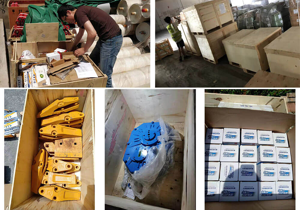 Loader and concrete batching plant spare parts to Qatar